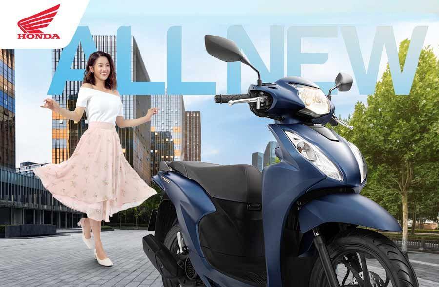 Honda Vision 110 2021 Harga 19 Juta Sudah Keyless Honda Bahan Bakar