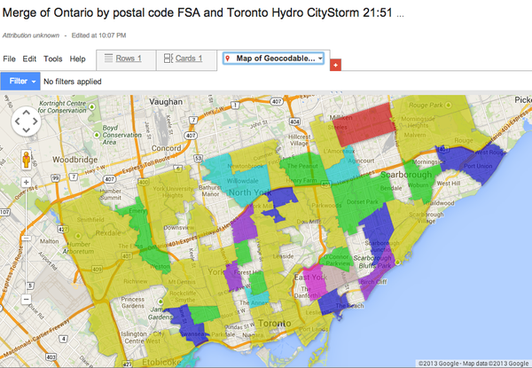 A Tale Of Two Toronto Mayors Tomayorfrod And Tomayorford Maps