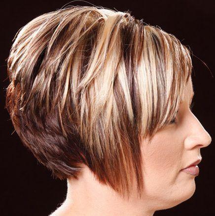 Formal Short Hairstyle 107 Baleyage Blonde Highlights Short Hair Styles Blonde Highlights Hair Highlights