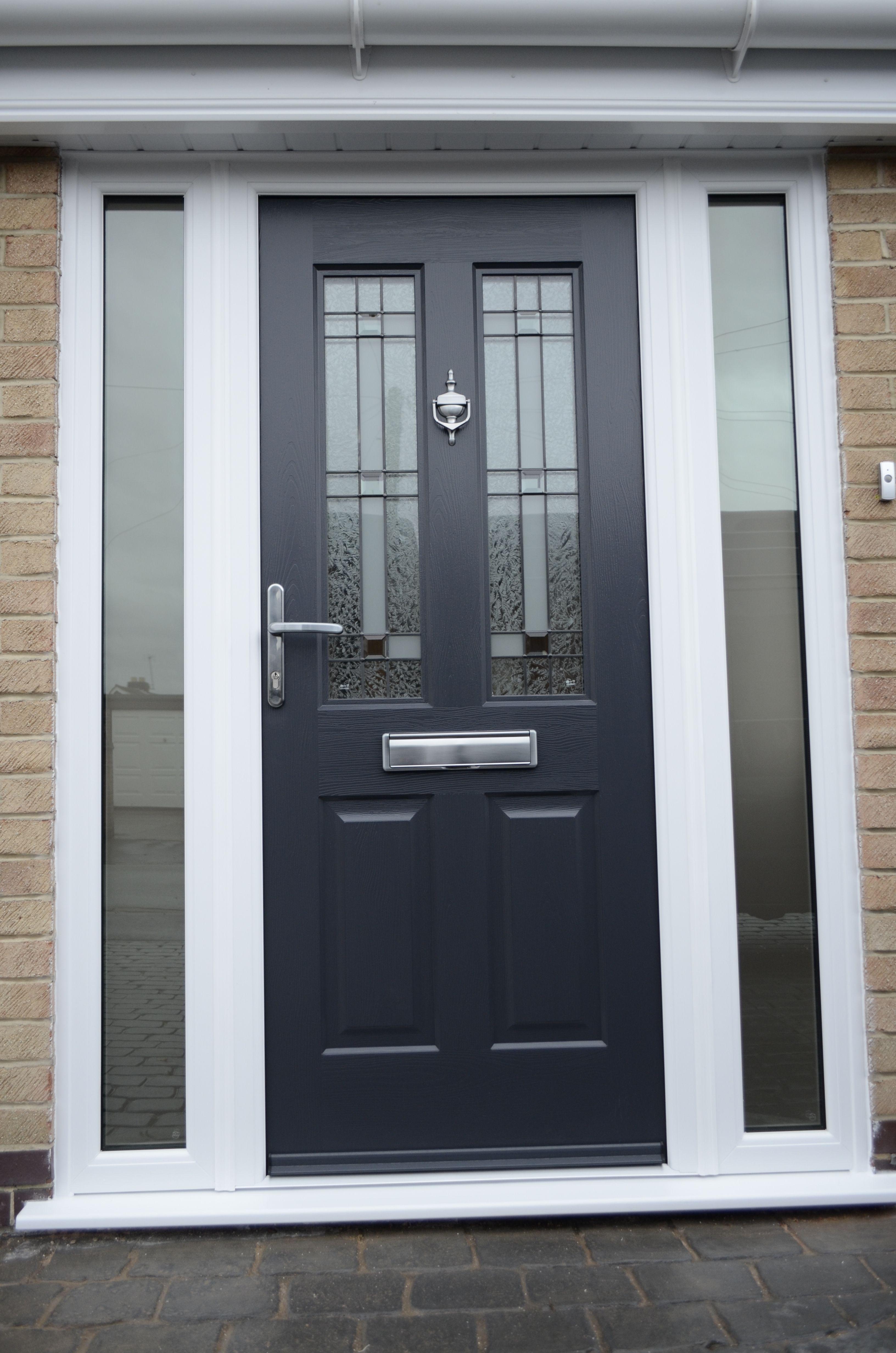 Black front doors & Rockdoor Jacobean Apollo http://www.verysecuredoors.co.uk ...