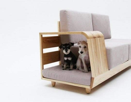 the dog house sofa le canap avec niche pour chien int gr e niche pour chien niche et les. Black Bedroom Furniture Sets. Home Design Ideas