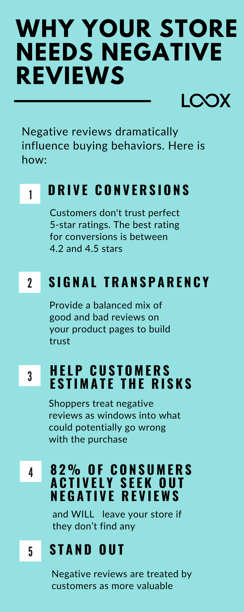 Why your store needs negative reviews Loox Negativity