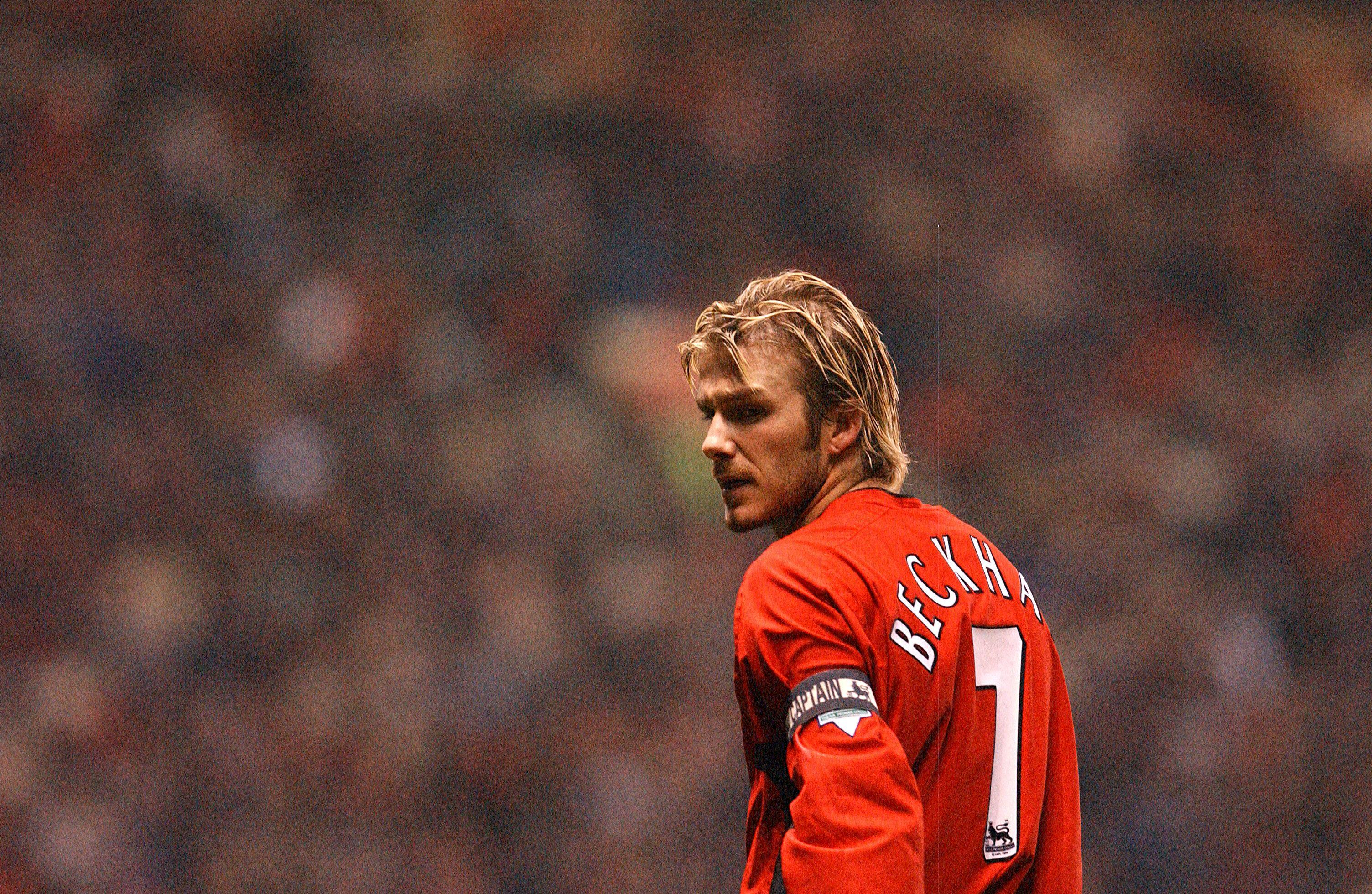 Manutd Legend David Beckham David Beckham Manchester United