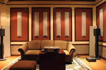 Home Theater Wall Panels acoustic sciences acoustic soffit | home theater | pinterest