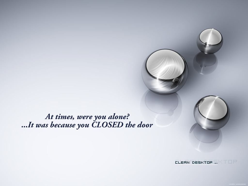 At time, were you alone? Inspirational quotes wallpapers
