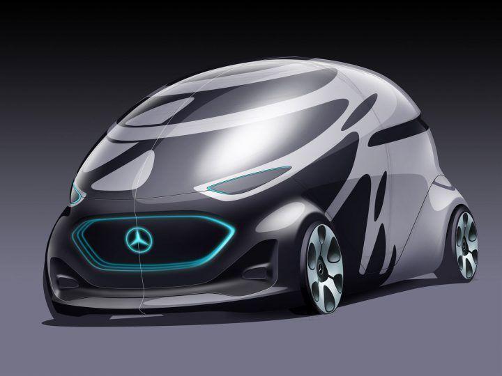 Mercedes-Benz Vision Urbanetic Concept  #conceptcar #mercedesbenz #cardesign carbodydesign Mercedes-Benz Vision Urbanetic Concept