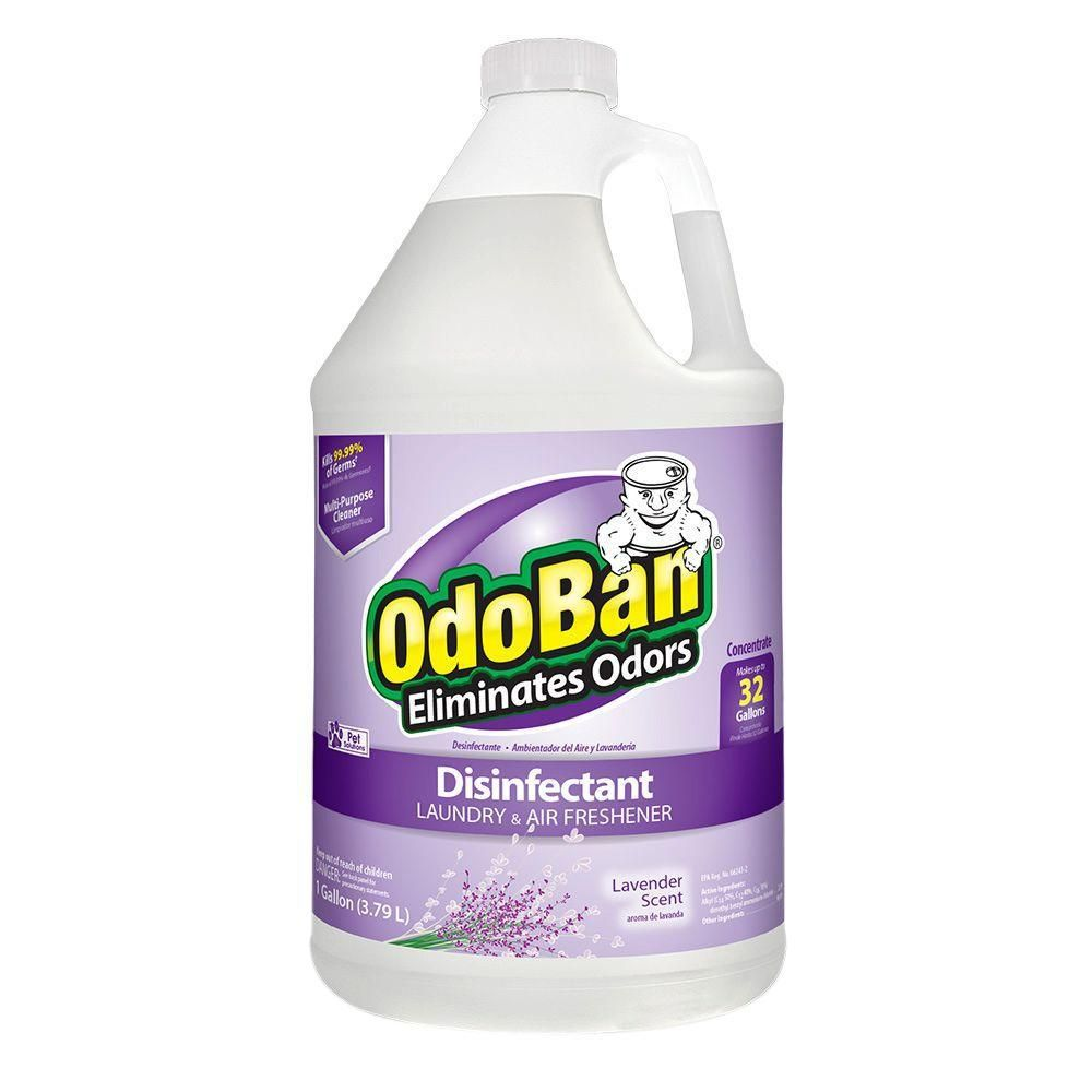 Odoban 1 Gal Lavender Disinfectant Laundry And Air Freshener Concentrate House Cleaning Tips Cleaning Cleaning Hacks