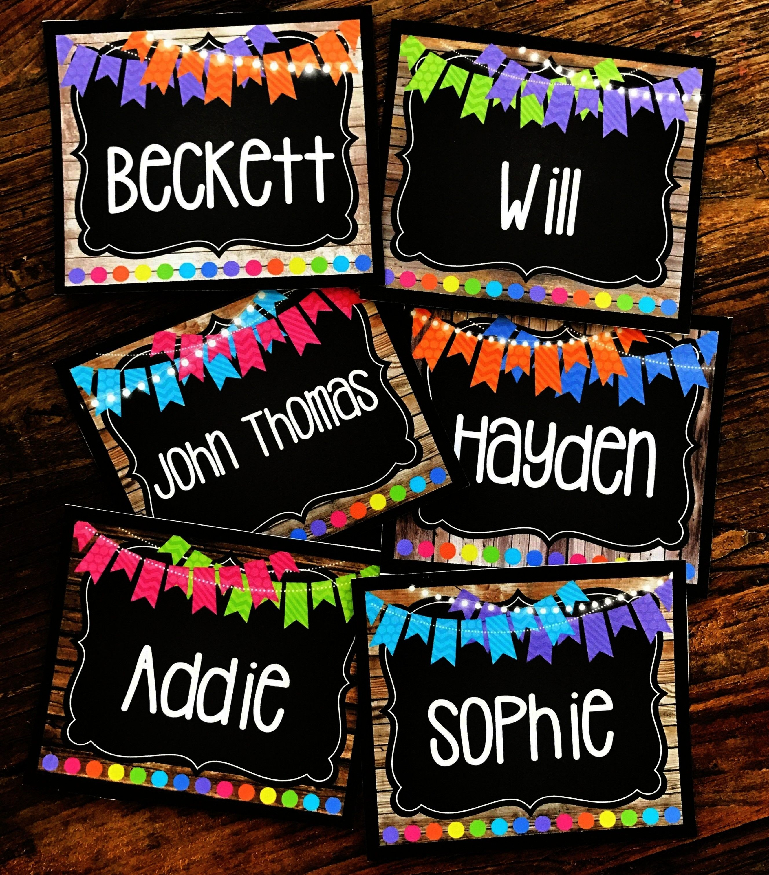 Editable Labels Library Labels Supply Labels  More  These editable labels come from my Farmhouse Flair NEON Classroom Decor Collection I love all of Farmhouse Flair NEON...