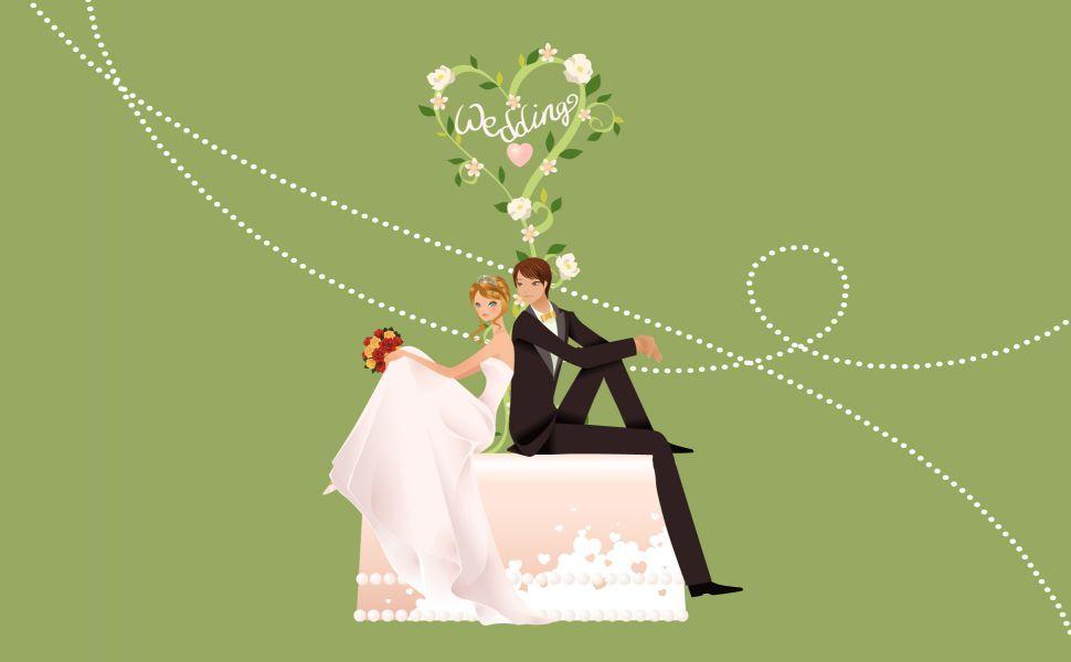 Wedding Cartoon Hd Wallpaper Wallpaper Wedding Wedding