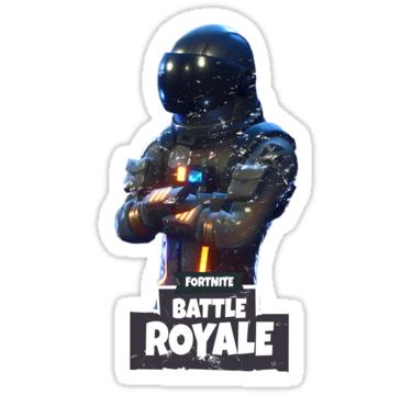 Fortnite Dark Voyager Battle Royale Stickers By Retropedro Redbubble Fiestas De Cumpleanos Sorpresa Cumpleanos Imprimibles Scrapbook
