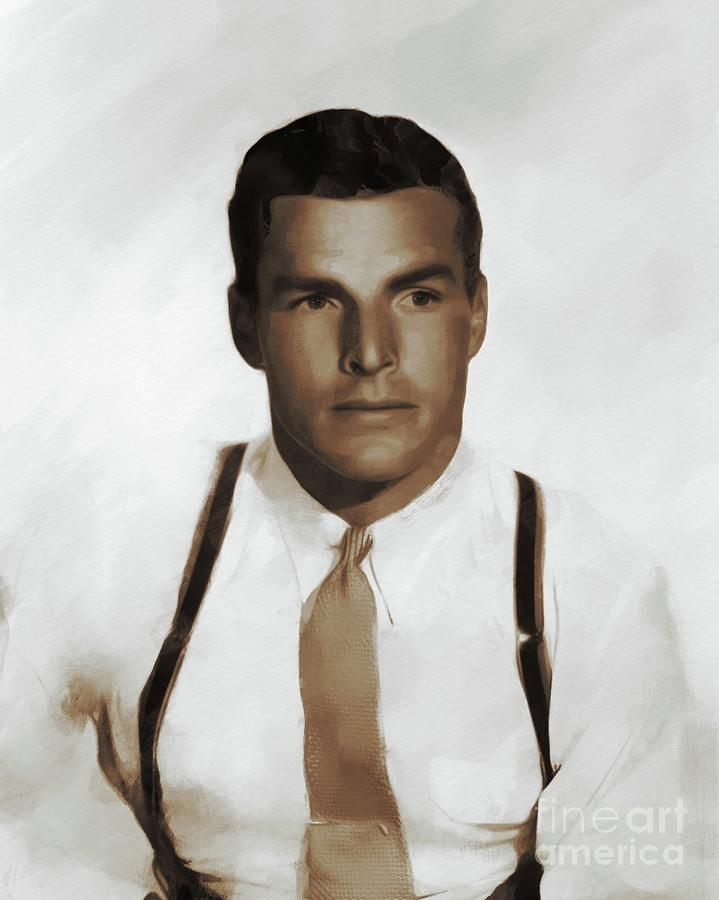 Hollywood Legends, Buster Crabbe, Actor by Esoterica Art Agency