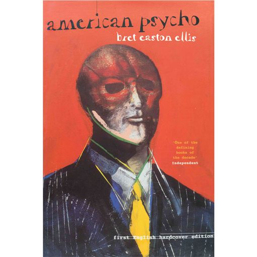 American Psycho By Brett Easton Ellis Poster With Images Books