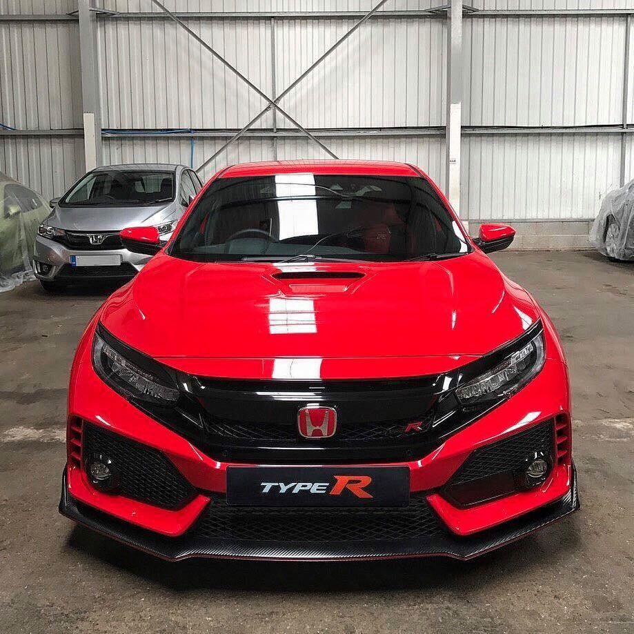 Seeing Red Honda Civic Typer Fk8 Hondacivic Civictyper Hondacivictyper Honda Civic Type R Honda Honda Civic