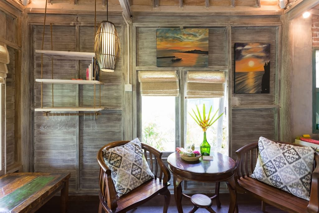 Enjoy The Boho Style In This Cozy Wooden House Balinese Wooden - Cozy wooden house