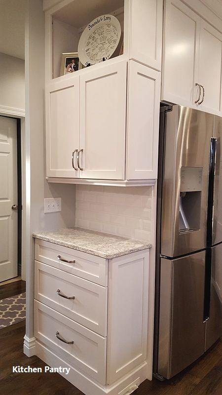 White Kitchen Pantry Design Ideas