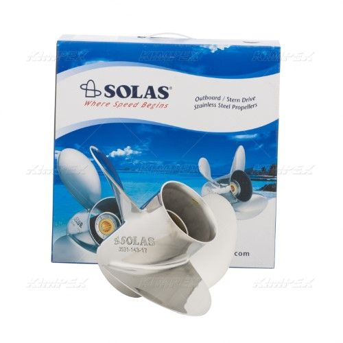 Solas New Saturn Propeller | Products | Steel, Stainless
