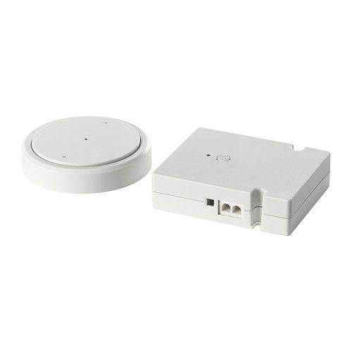 Ikea Ana Remote Control Makes It Possible To Turn On Off All Kitchen Light Units Connected In A Chain Simultaneously