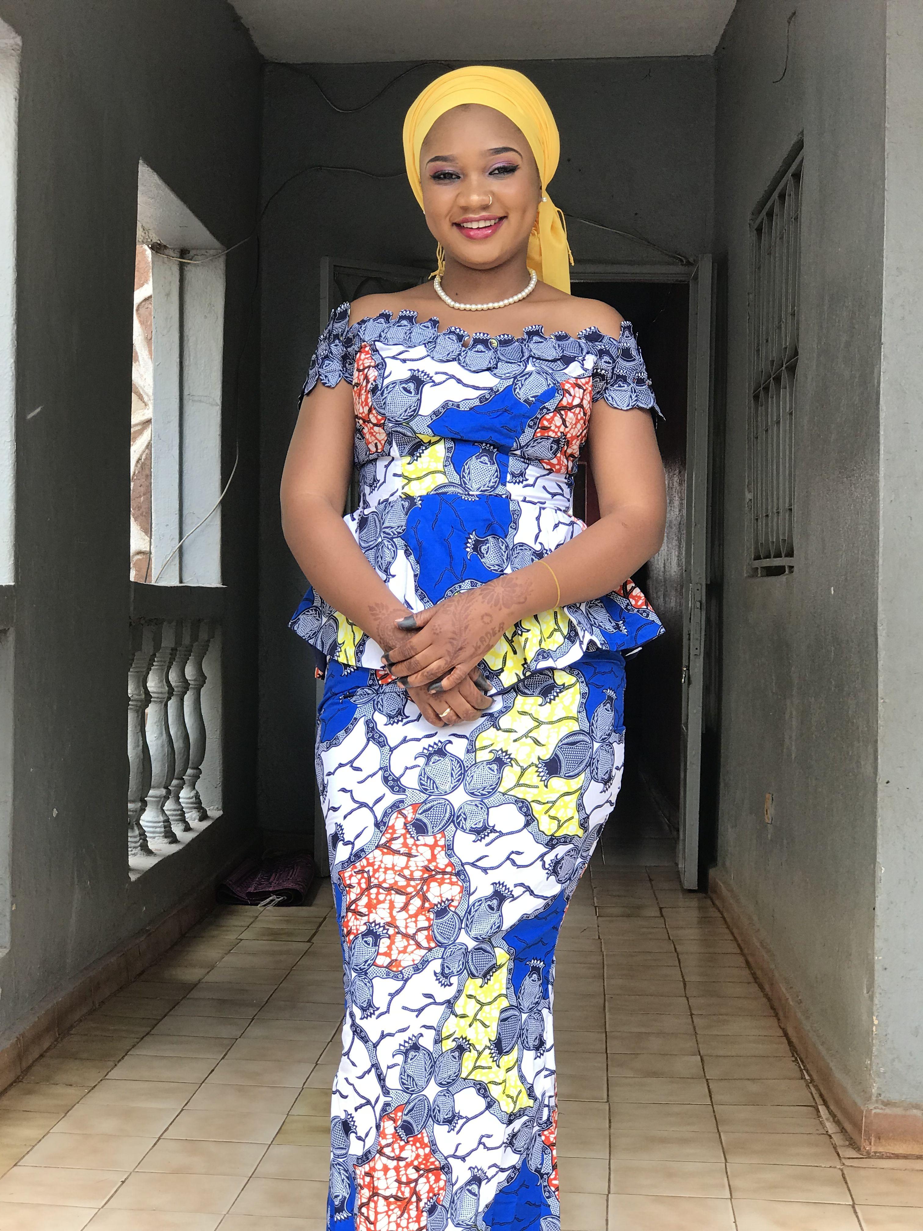 Épinglé par Made In MaaLii 🇲🇱 sur Modèles Différents Pagnes Africains | Mode africaine robe ...