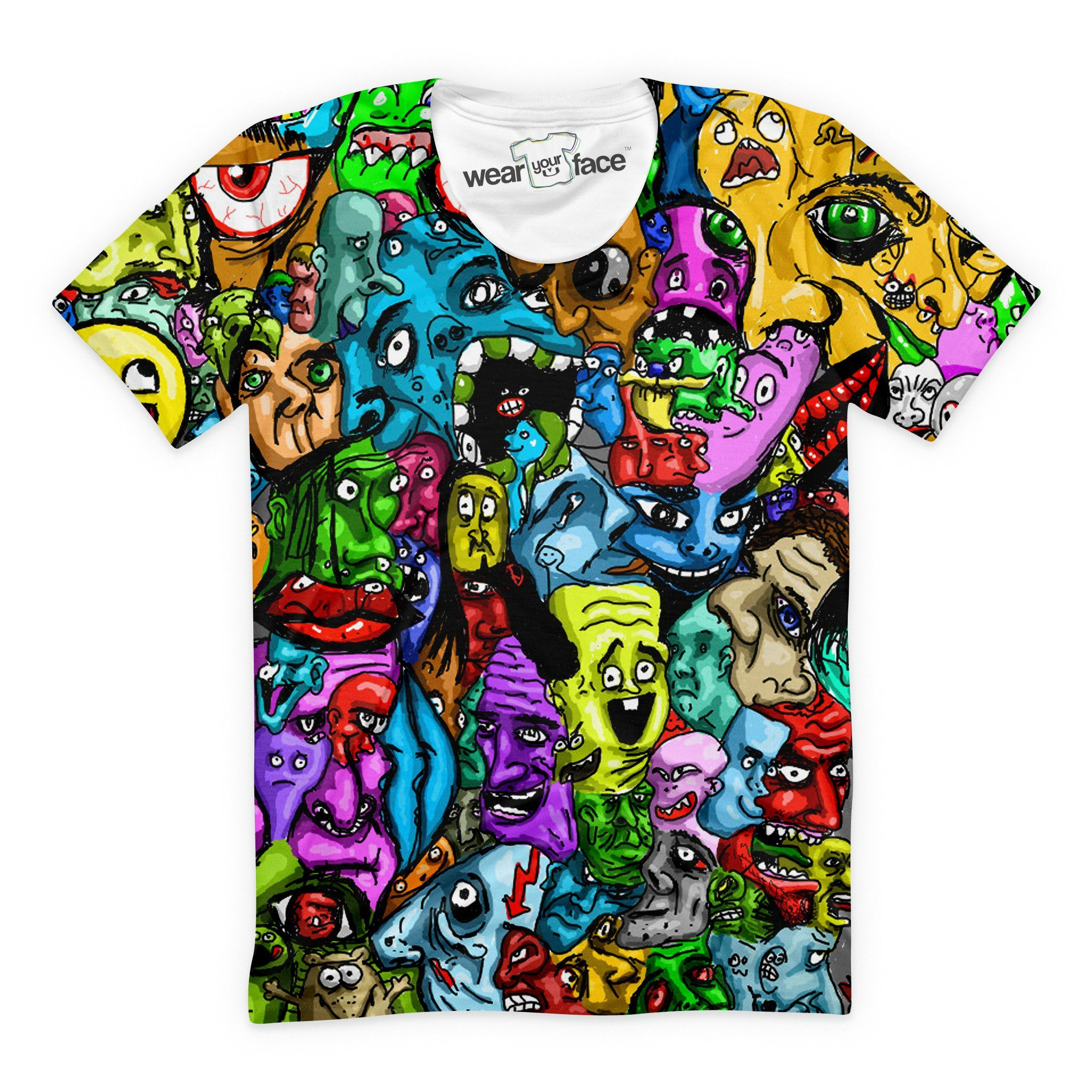 Smoking Cat with Glasses T-Shirt Cool Trippy Groovy Rainbow 420 Tee Shirt