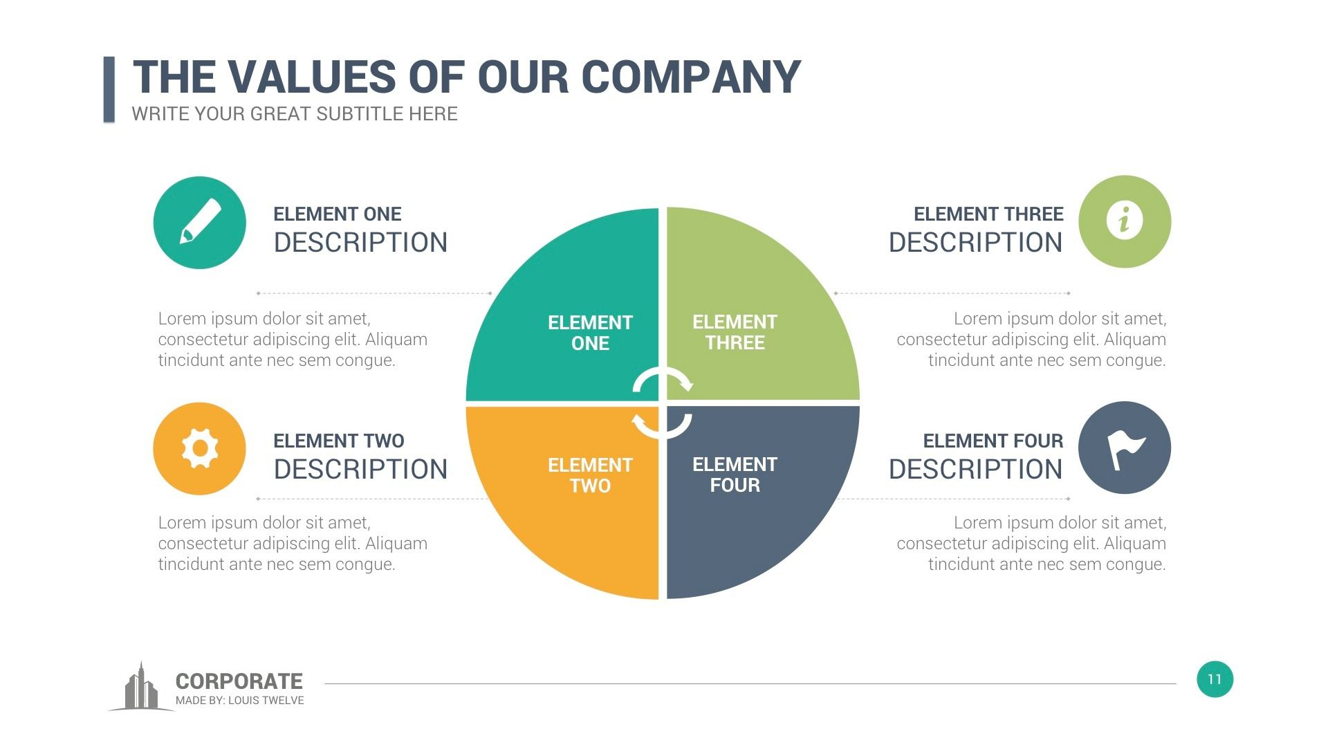 Corporate Overview Powerpoint Template | Template