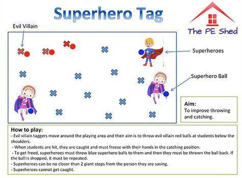 Bench Tag PE Game | Teaching | Pinterest