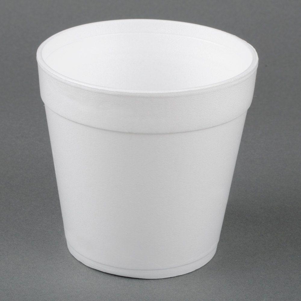 Dart 32mj48 32 Oz White Foam Food Container 500 Case Food