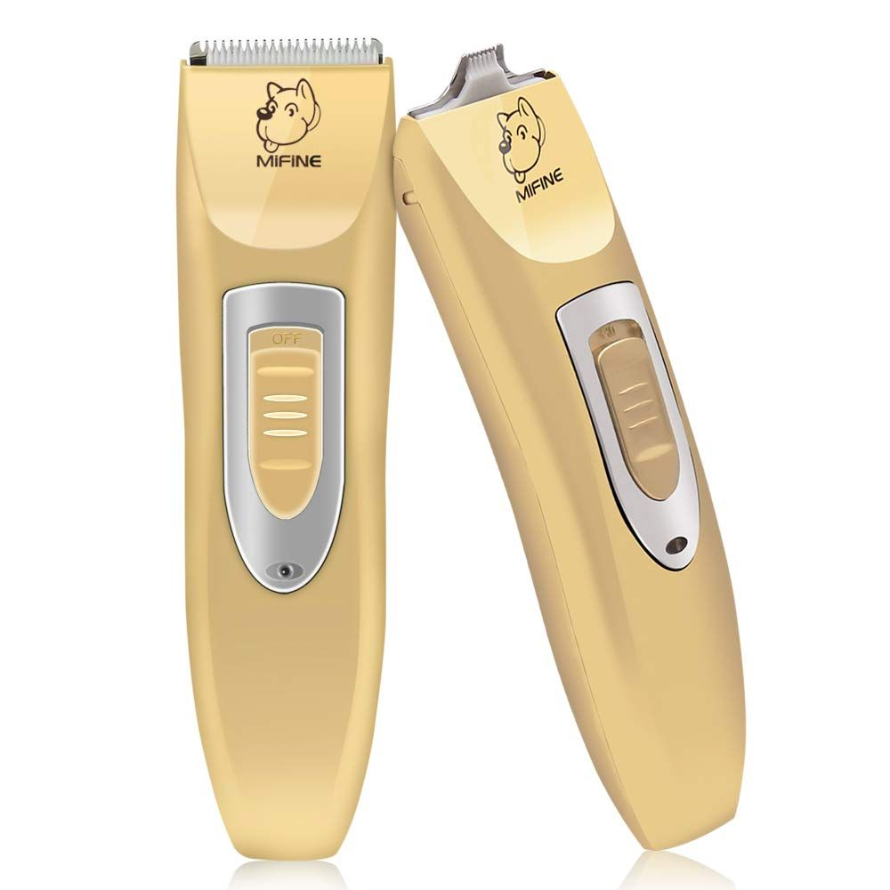 Mifine Professional Dog Clippers Kit Rechargeable Dog Grooming