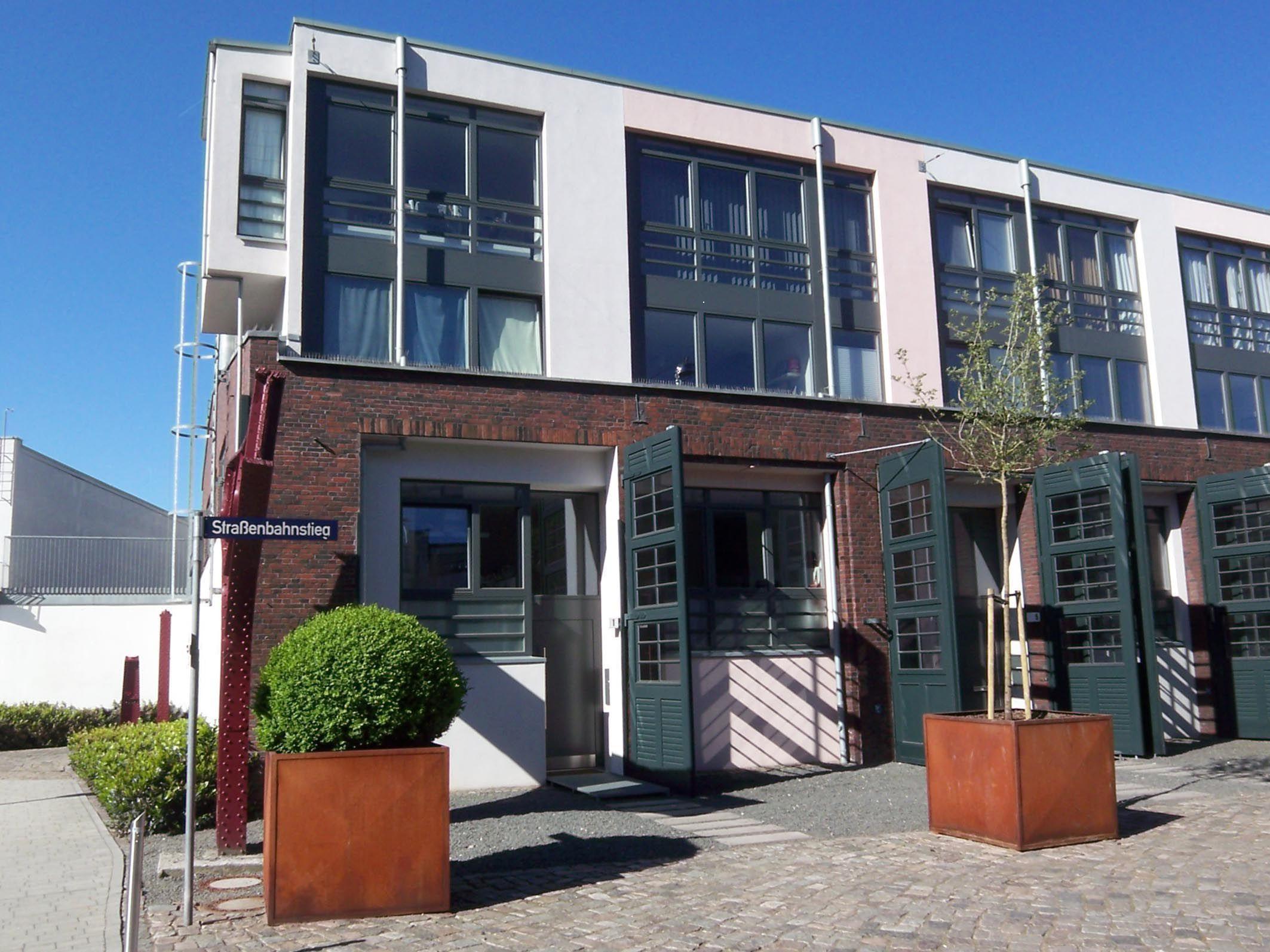 Townhouse Falkenried Front Urban terrace Pinterest