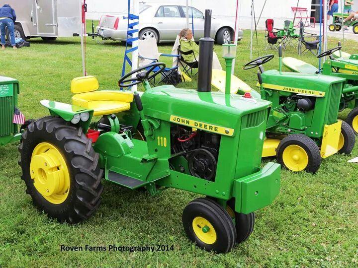 JOHN DEERE 110 Lawn Tractor | Tractors | Pinterest ...