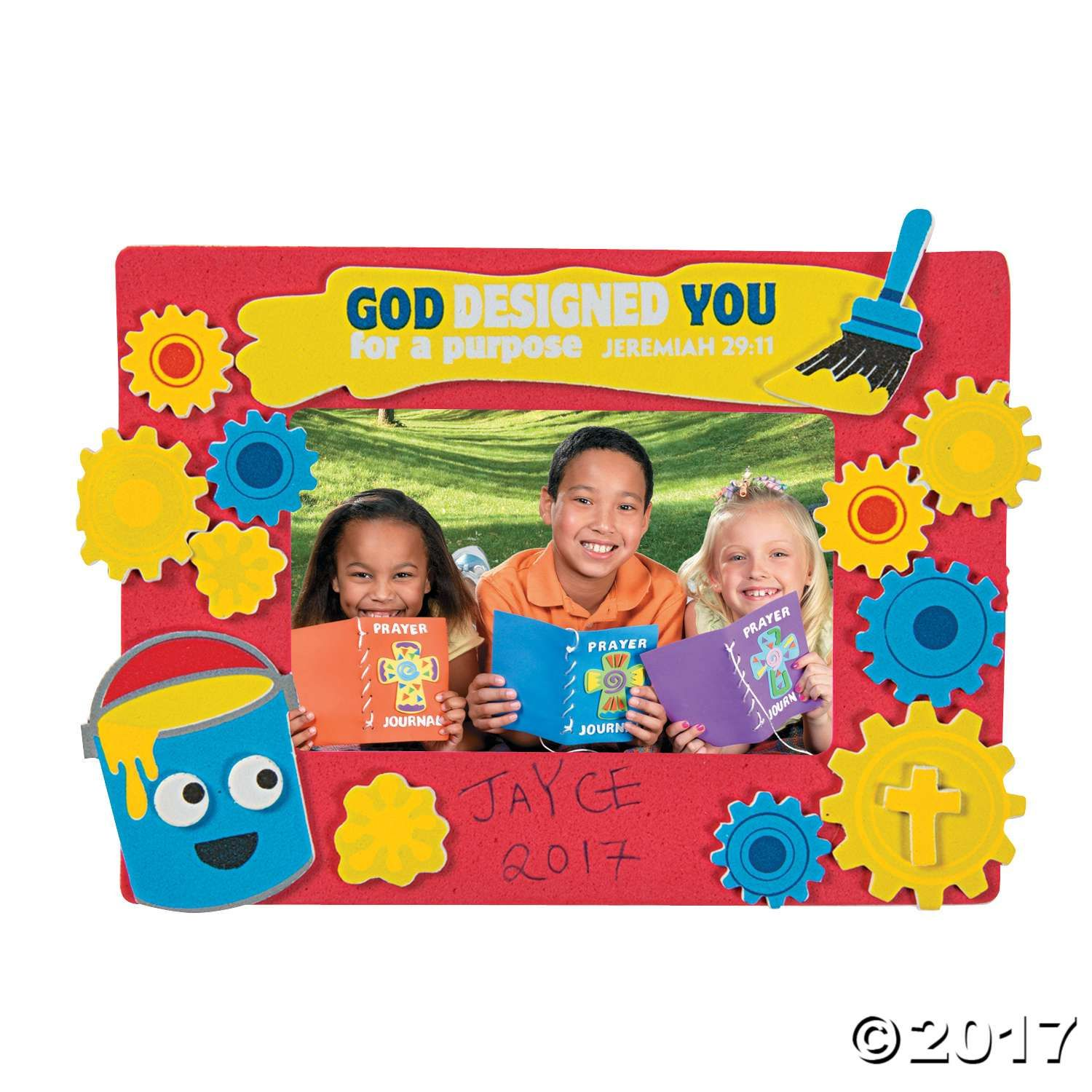 Capture vbs memories with these geared up for god vbs picture capture vbs memories with these geared up for god vbs picture frame crafts for kids jeuxipadfo Gallery