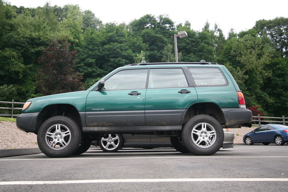 "8"" lift on a Subaru Forester-having a lifted subaru would be pretty ..."