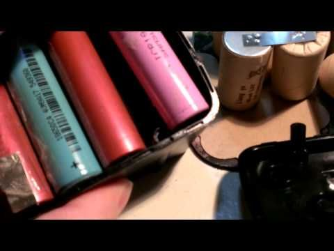 harbor freight drillmaster battery rebuild 1 2 youtube energy