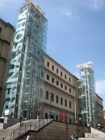 Reina Sofia Museum Madrid Miro Dali Picasso Jean Nouvel In