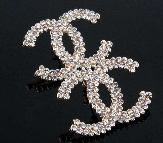 AD786  High quality CC Brand Jewelry crystal  stud Earring