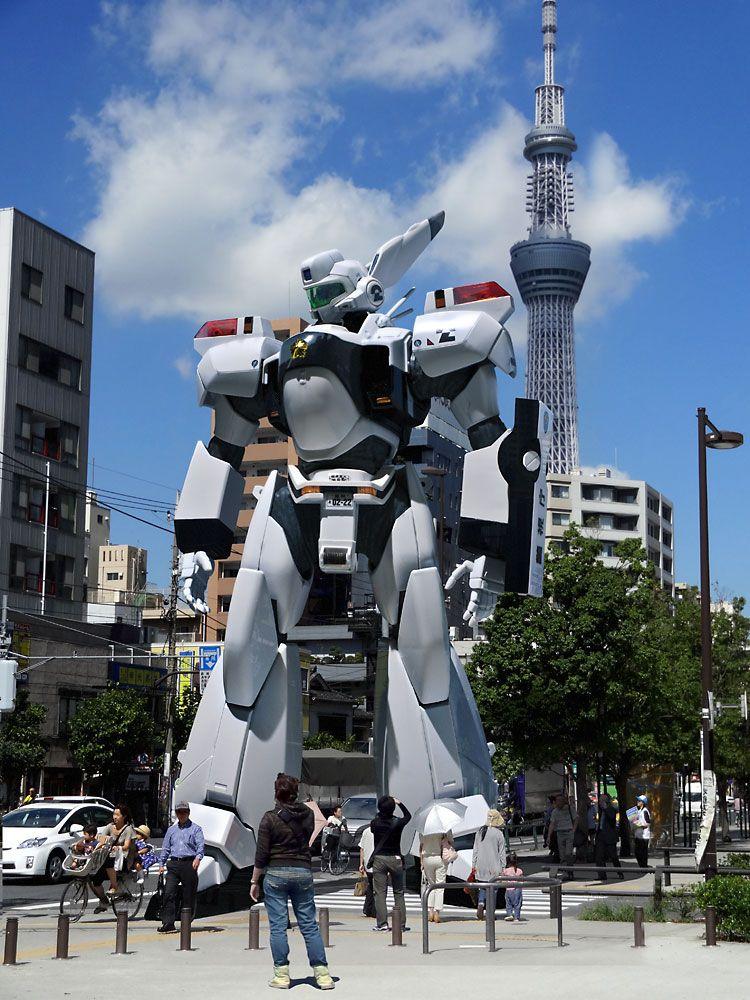 Perché in europa non abbiamo Robot nelle piazze? #Patlabor, #AV98 #Ingram #PacificRim #PacificRimIT