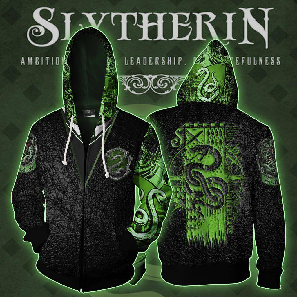 Harry Potter Hogwarts Gryffindor Men 3D Hoodie Sweatshirt Sweater Zipper Jacket
