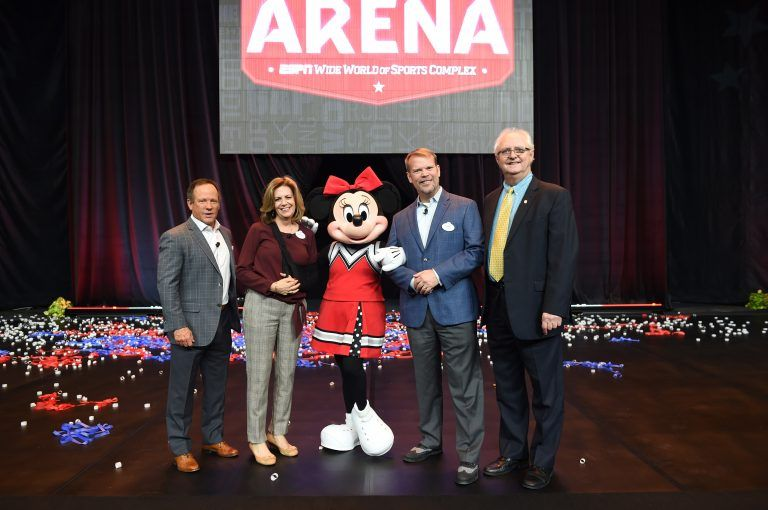 VIDEO The Arena hosts its grand opening at Walt Disney