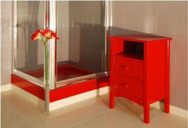 Peinture Resine Rouge Sur Meuble Salle De Bain Resinence Meuble Salle De Bain Peindre Meuble Bois Comment Peindre Un Meuble