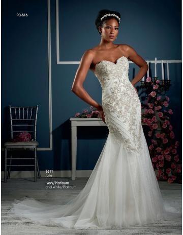 Meerjungfrau Außergewöhnliche Schöne Brautkleider aus Tüll mit Applikation
