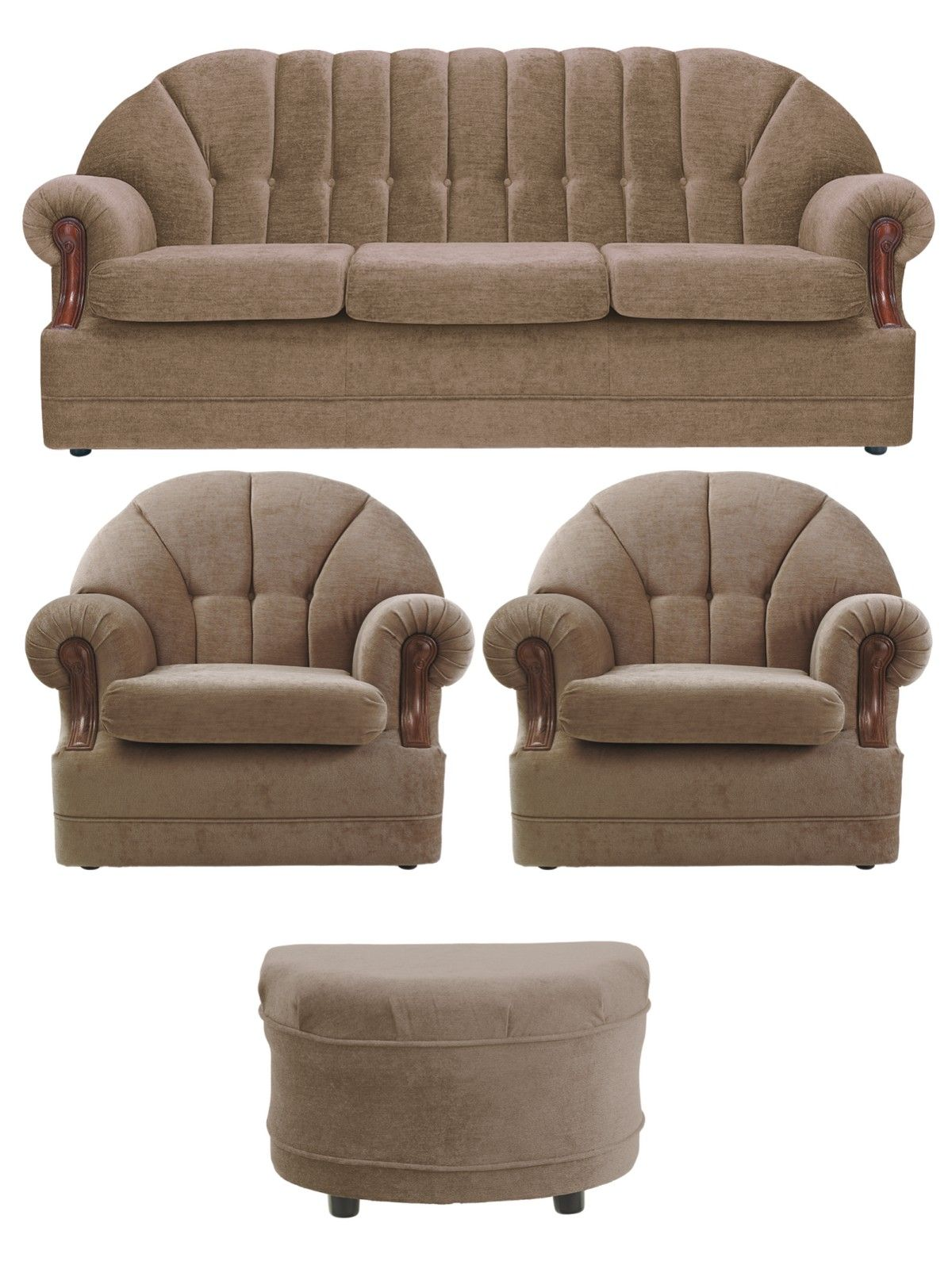 Stupendous Wexford 3 Seater Sofa 2 Armchairs Footstool Buy And Spiritservingveterans Wood Chair Design Ideas Spiritservingveteransorg