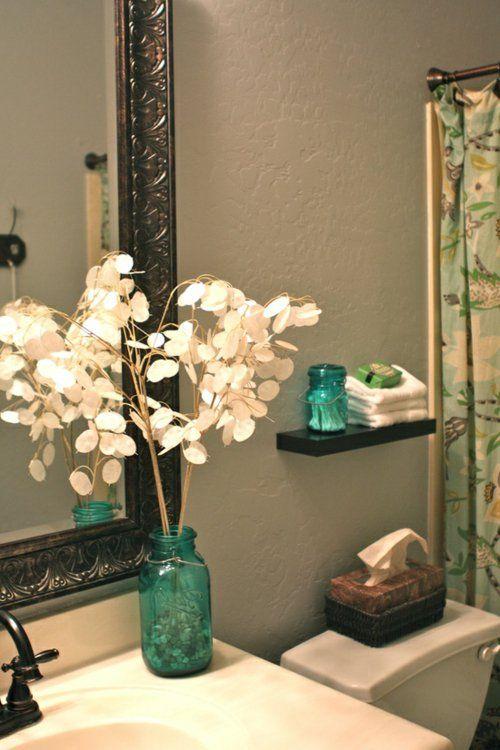 Coole Einrichtungsideen fürs kleine Badezimmer Gäste-WC Pinterest - kleine moderne badezimmer