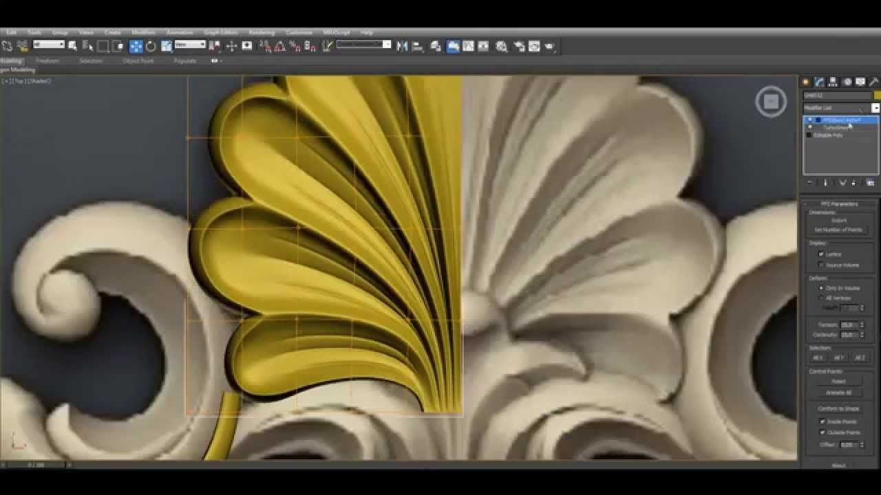 3ds max tutorial 3d classical modeling part1 video for Decoration 3ds max