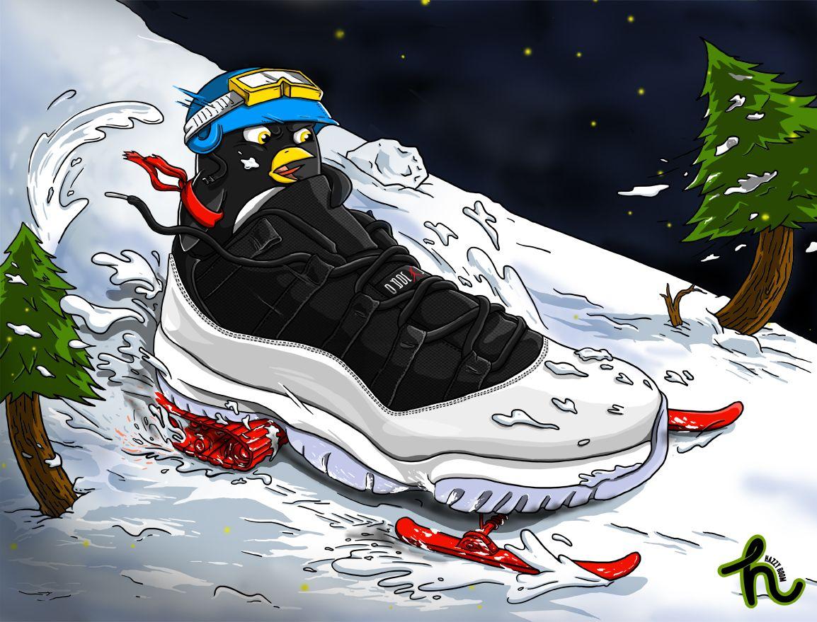 #jordan11 #snowmotor artwork by #hazzy · Air Jordan ...