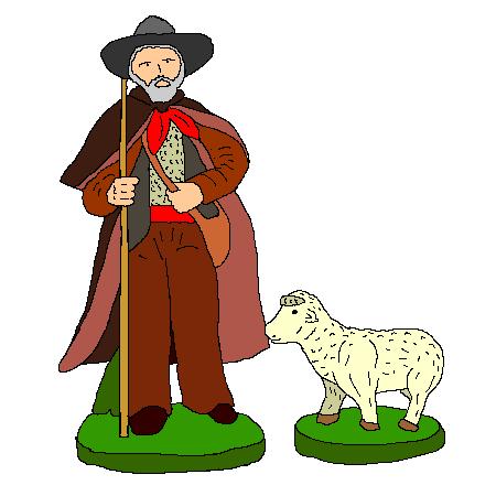 Coloriage berger mouton a imprimer coloring image pinterest - Dessin mouton ...