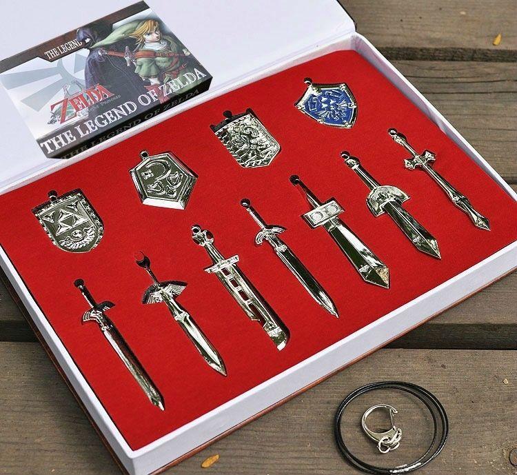 The Legend of Zelda Link Skyward Master Sword Alloy Key Chains Keychain Keyring