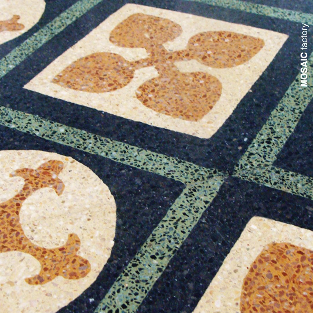 Granito Decorative Floor And Wall Tile With Classic Pattern