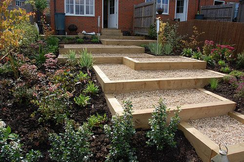 Google image result for httpggardenspixslopes1after growing gardens case studies designing around a sloping garden workwithnaturefo