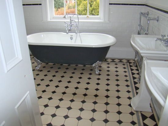 My Work What I Do The Floors And Walls Victorian Bathroom