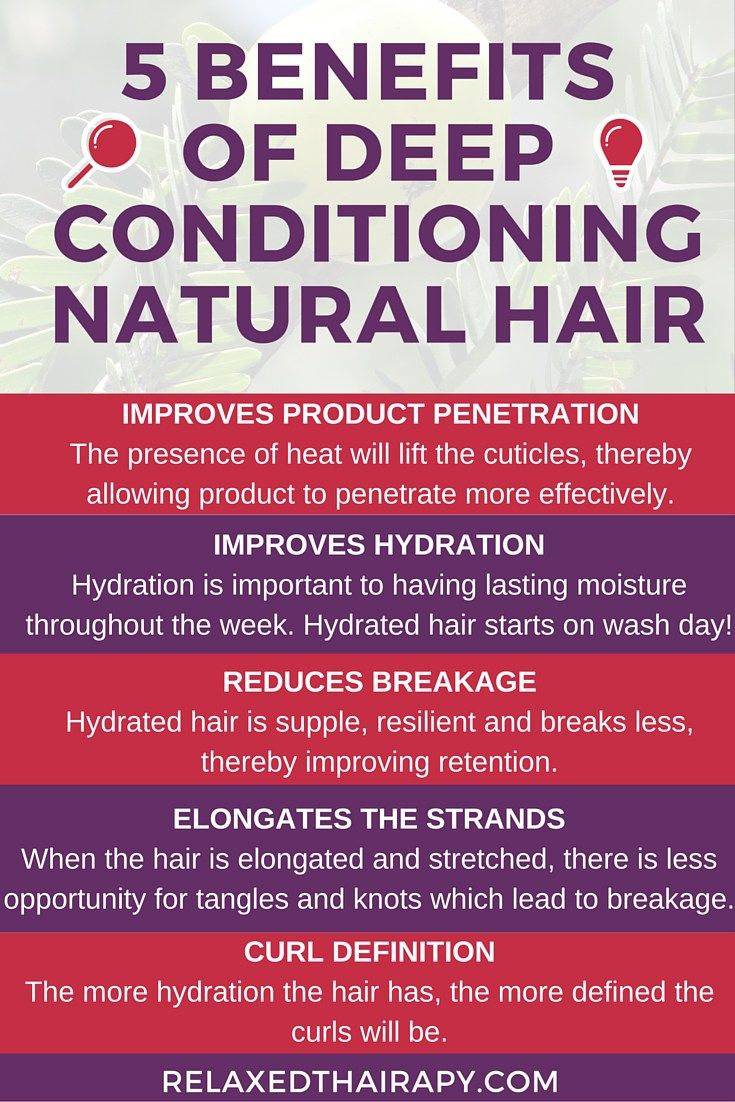 5 Benefits Of Deep Conditioning Natural Hair Deep Conditioning