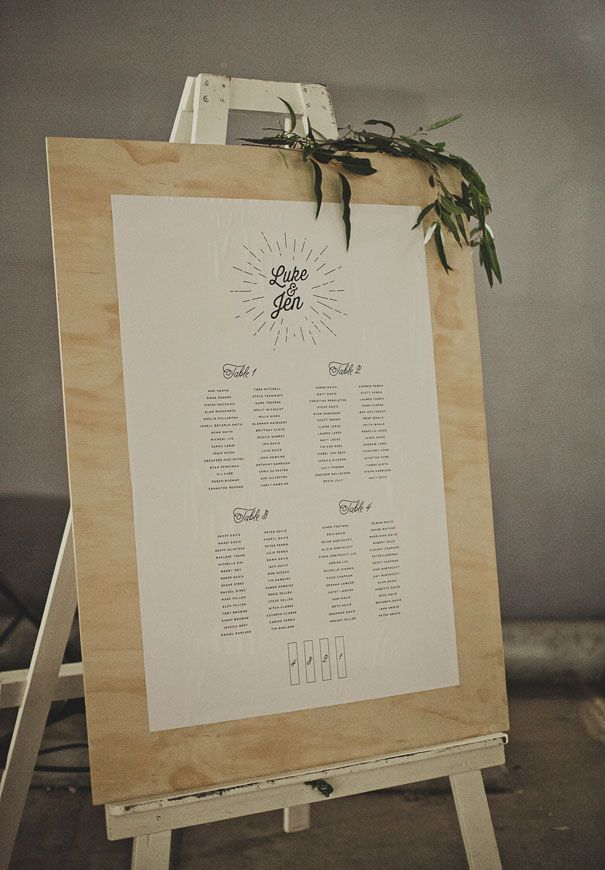 Seating Chart Wedding Reception Plan De Table Seating